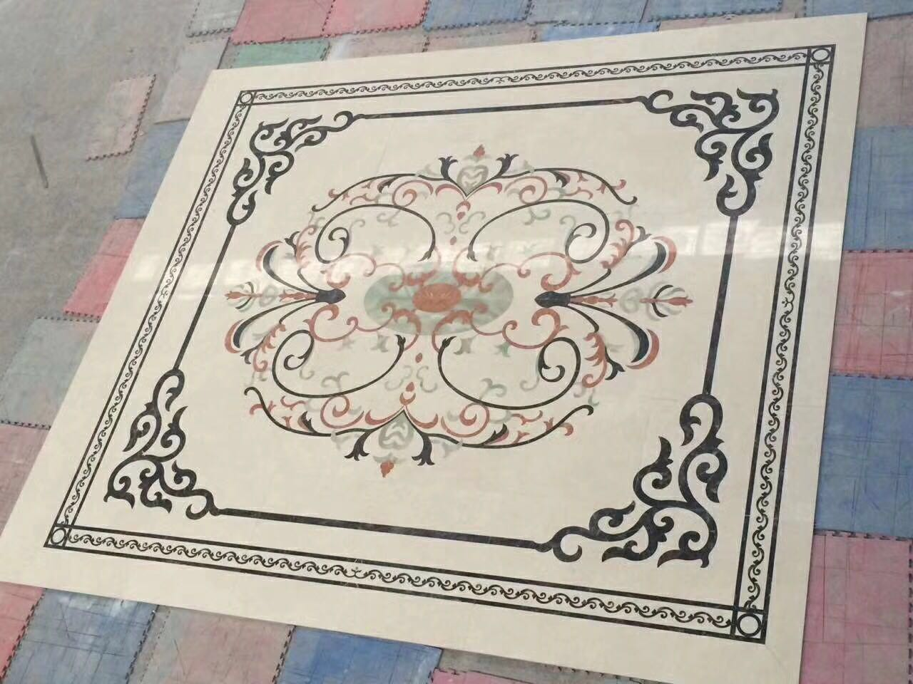 marble waterjet for decoration