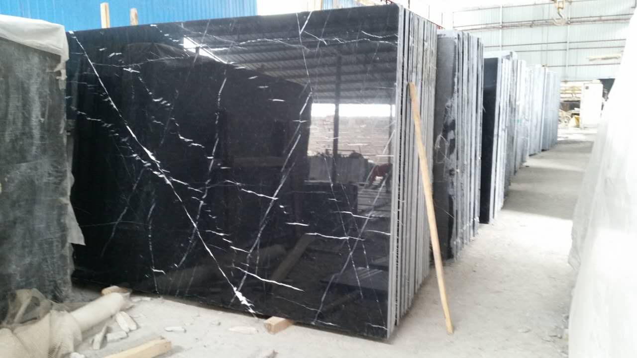 Black Marquina, Black marble